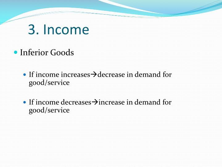 3. Income