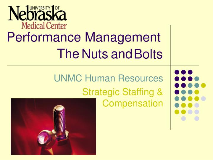 performance management n.