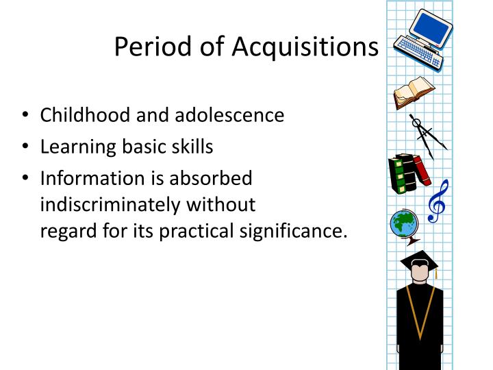Period of Acquisitions