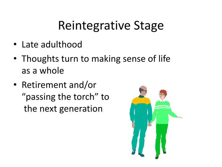 Reintegrative Stage
