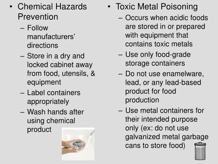 Chemical Hazards Prevention