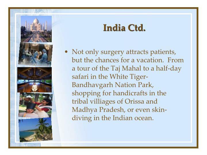 India Ctd.