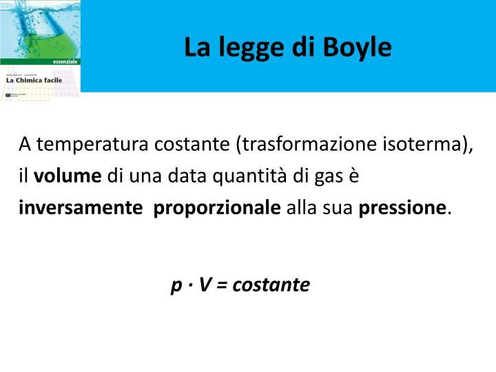 La legge di Boyle