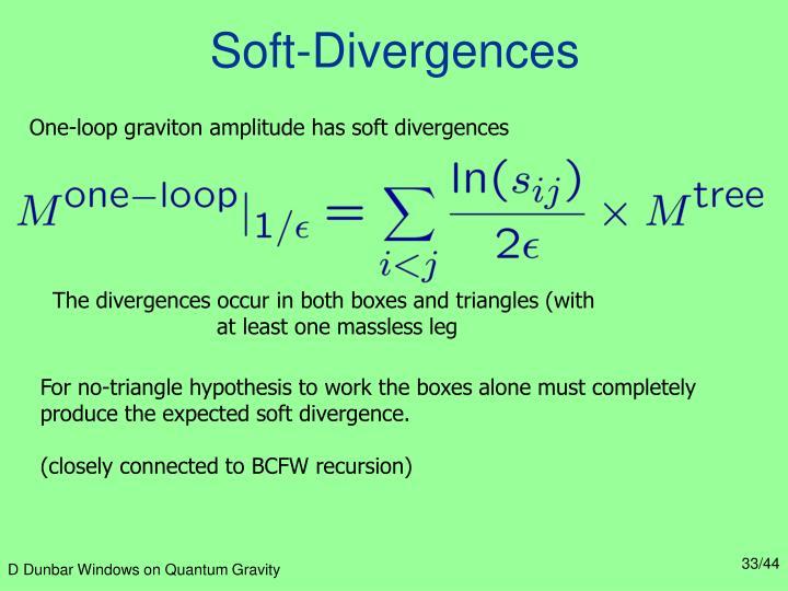 Soft-Divergences