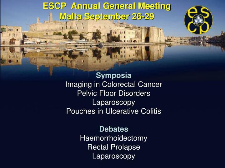 Escp annual general meeting malta september 26 291