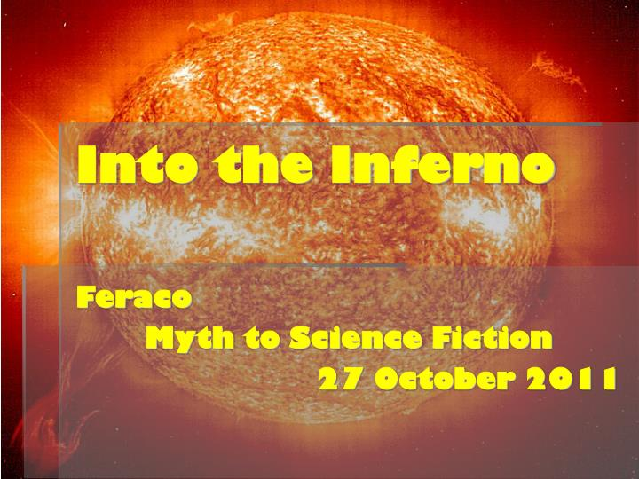 into the inferno n.