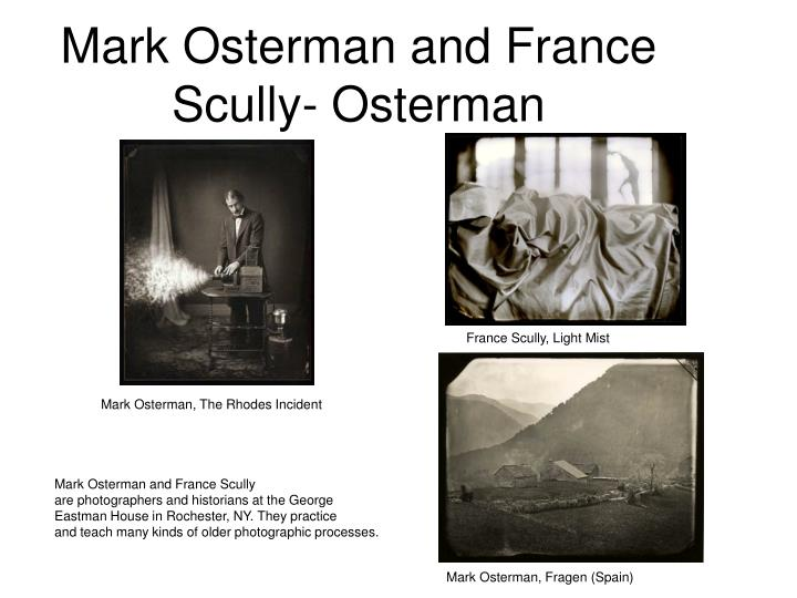 Mark Osterman and France Scully- Osterman