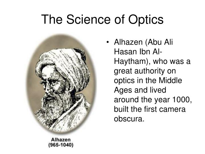 The Science of Optics