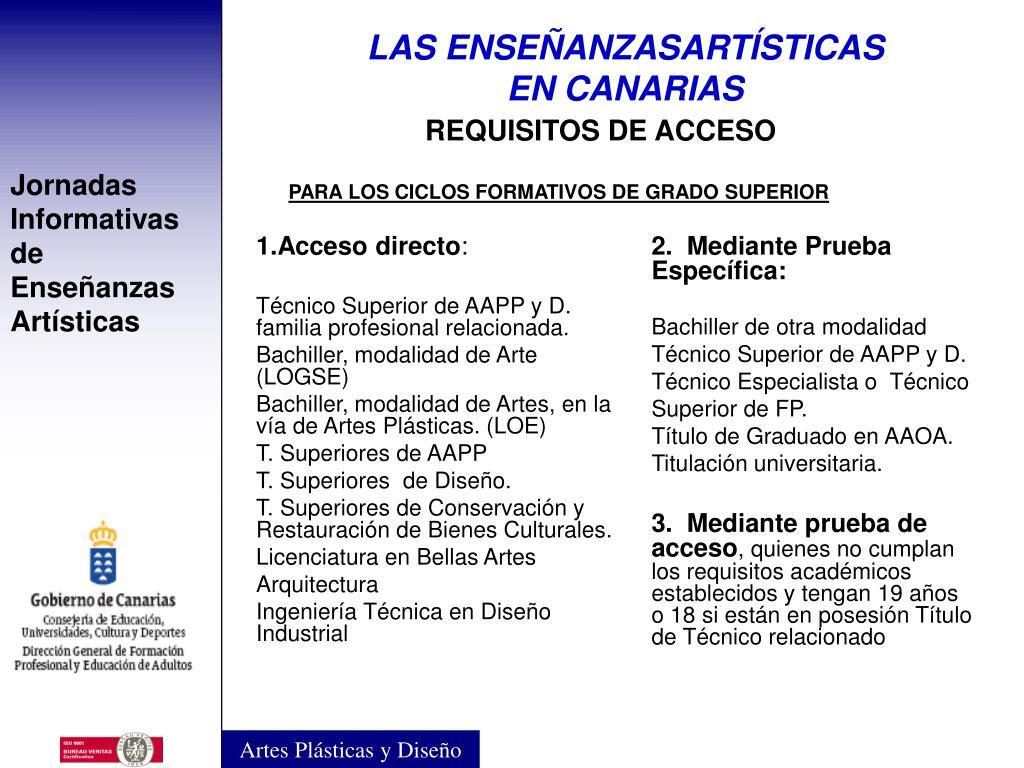 Ppt Servicio De Enseñanzas Artísticas Dirección General De