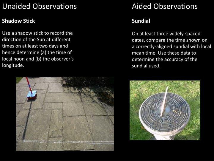 gcse astronomy coursework shadow stick Gcse astronomy 2017 - to coursework observations throughout the specification content new content • find longitude using a shadow stick.