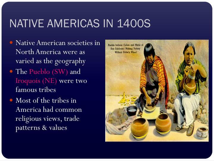 Native americas in 1400s