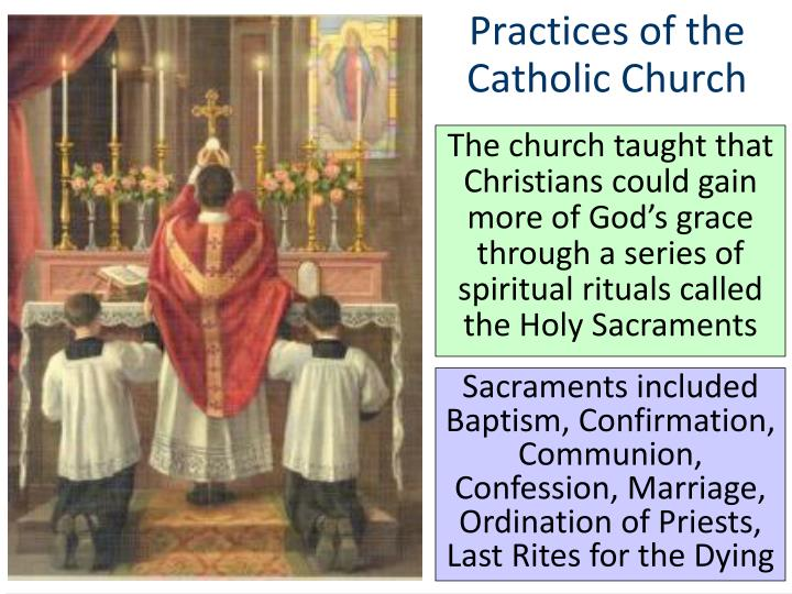Practices of the Catholic Church