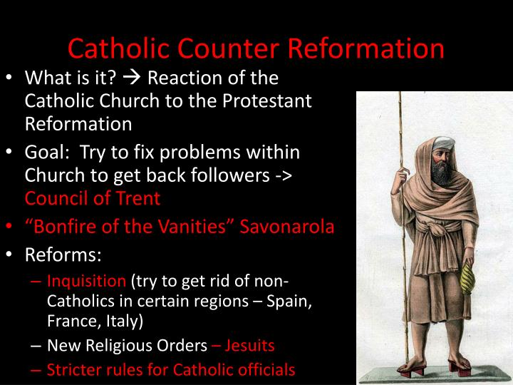 what were the goals of the counter reformation