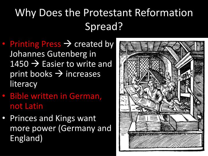 printing press reformation Propaganda during the reformation, helped by the spread of the printing press throughout europe and in particular within germany, caused new ideas, thoughts, and doctrine to be made available to the public in ways that had never.