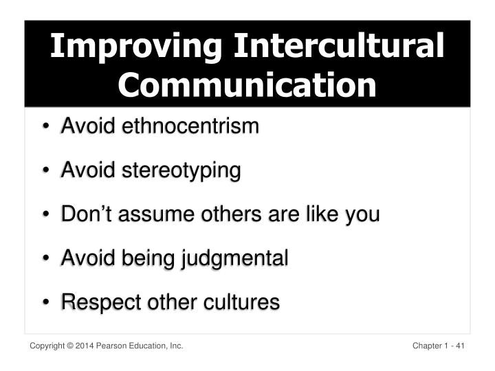 Improving Intercultural Communication