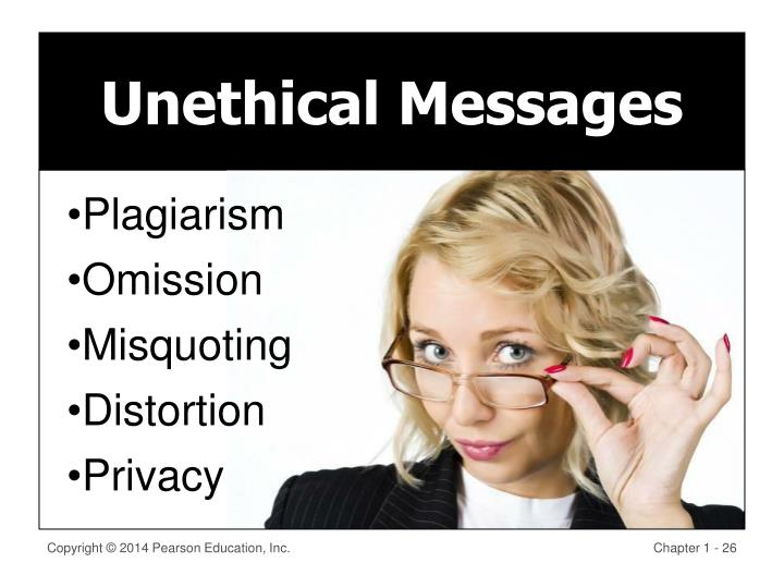 Unethical Messages