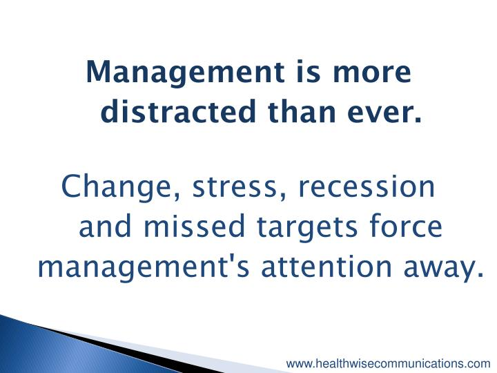 Management is more