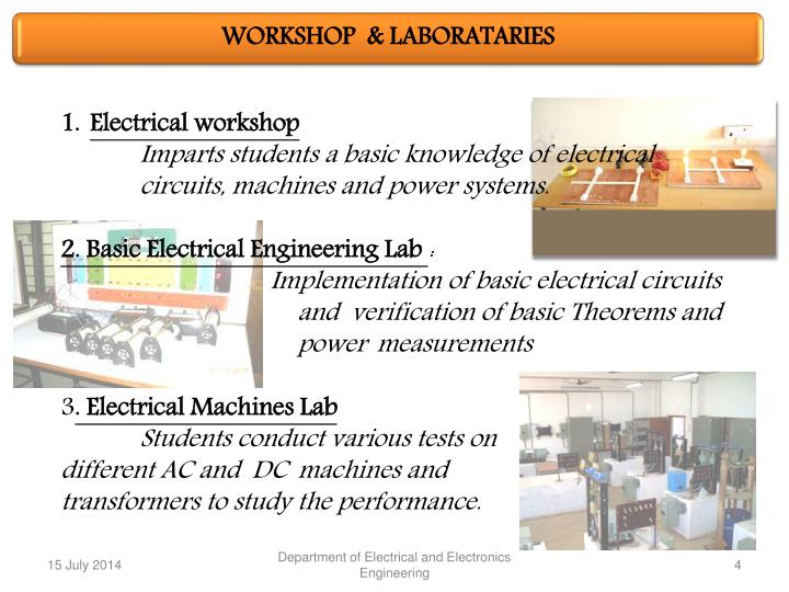 PPT - DEPARTMENT OF ELECTRICAL AND ELECTRONICS ENGINEERING ...