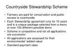 countryside stewardship scheme
