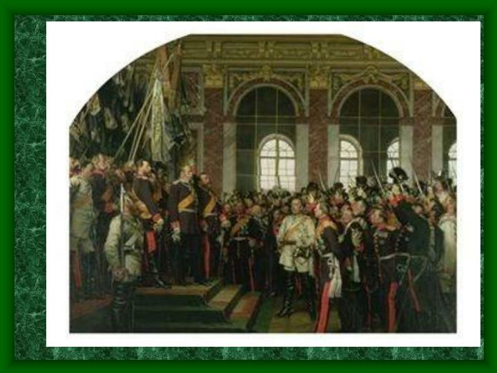 Also, since the German states occupy a large geographic space, cultures, political beliefs and traditions vary greatly from one state to another.  Obviously, rulers of small states would be unwilling to give up power.  They would fight unification if possible.