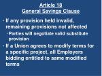 article 18 general savings clause