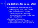 implications for social work3