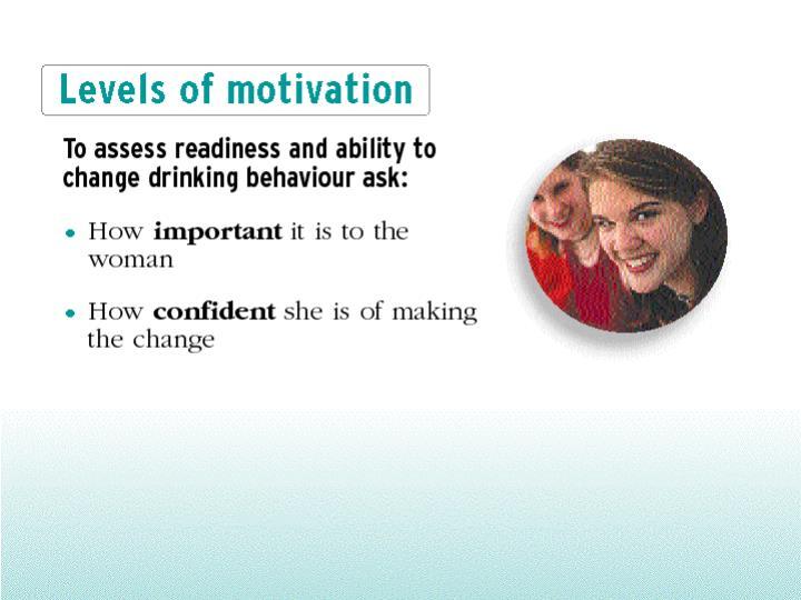 Levels of motivation