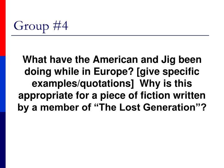 Group #4
