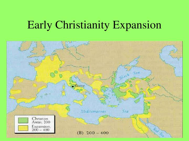 Early Christianity Expansion