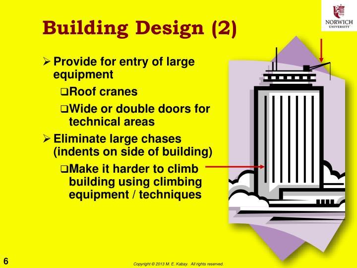 Building Design (2)
