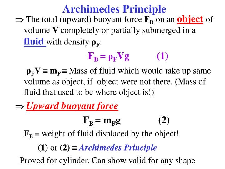 essay on archimedes principle Archimedes principle - structure question 1 diagram (a) above shows a metal block supported by a spring balance diagram (b) shows the block partially immerses in water while diagram (c) shows the block fully immerses in water.