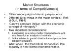 market structures in terms of competitiveness2