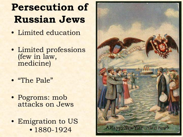 Persecution of Russian Jews