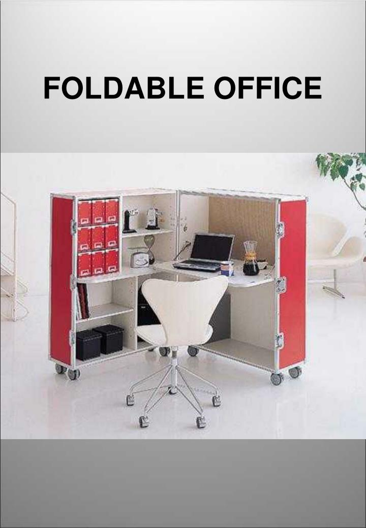 FOLDABLE OFFICE