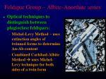 feldspar group albite anorthite series1