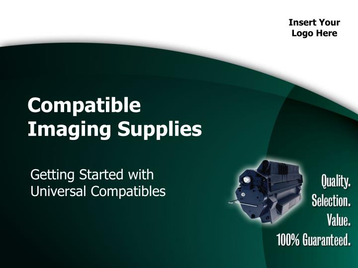compatible imaging supplies n.