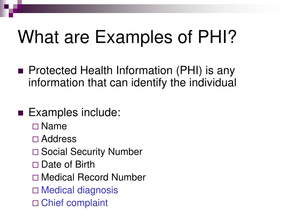 PPT - Health Insurance Portability and Accountability Act