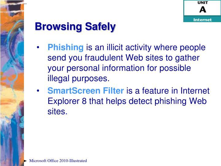 Browsing Safely