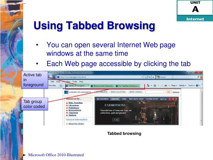 You can open several Internet Web page windows at the same time