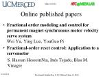 online published papers2