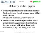 online published papers4