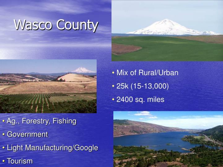 Wasco county