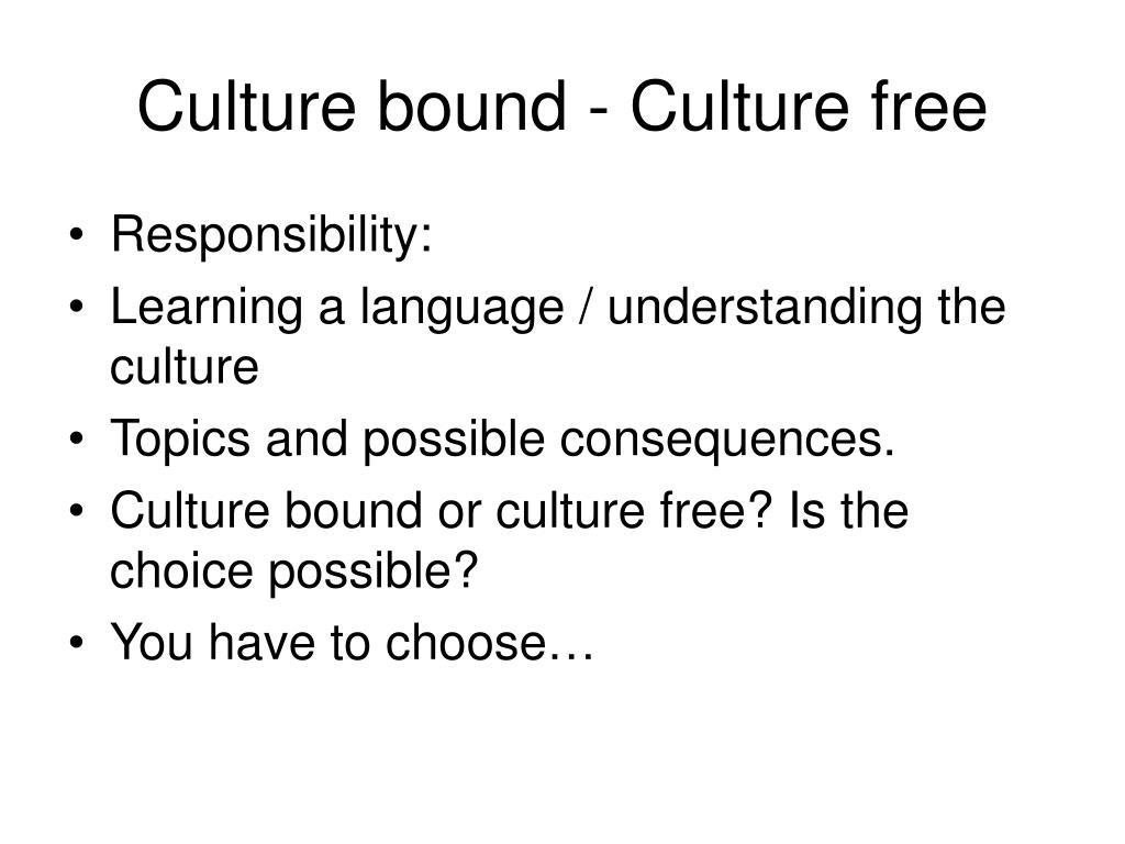 culture topics