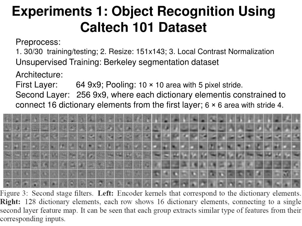 PPT - Learning Convolutional Feature Hierarchies for Visual