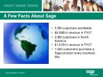 a few facts about sage