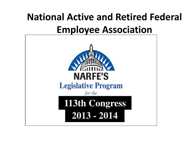 National active and retired federal employee association