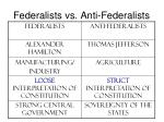 federalists vs anti federalists1