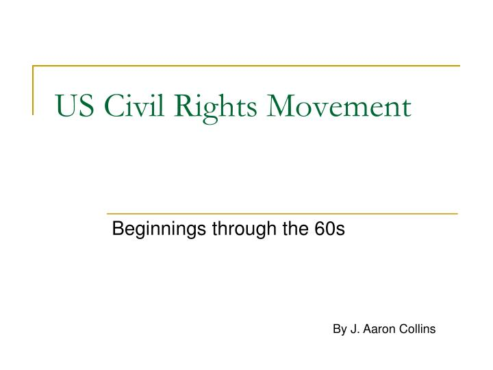 us civil rights movement n.