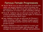 famous female progressives