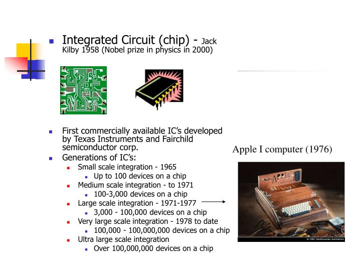 Integrated Circuit (chip) -
